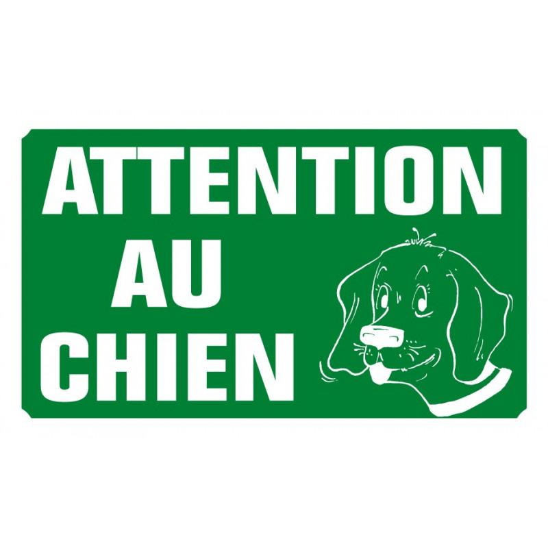 attention au chien
