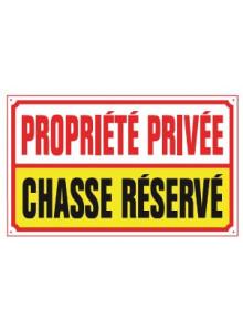 propriété privée chasse réservé