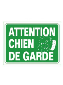 attention chien de garde
