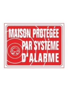 maison protégée par système d'alarme